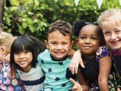 Photo of kindergarten-aged kids