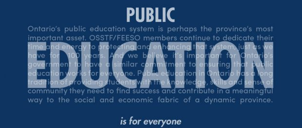 banner: Public Education is for everyone