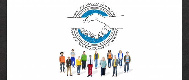 Illustration: Handshake Partnership Concept