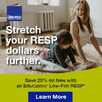 Advertisement: Stretch your RESP dollars further.