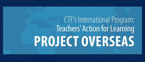Graphic: Image of the CTF International Program