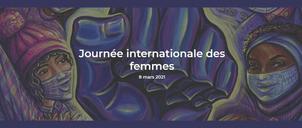 Image detail of the French International Women's Day poster