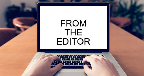 from the editor