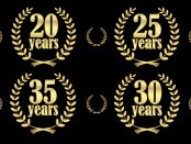 graphic of years services medallions