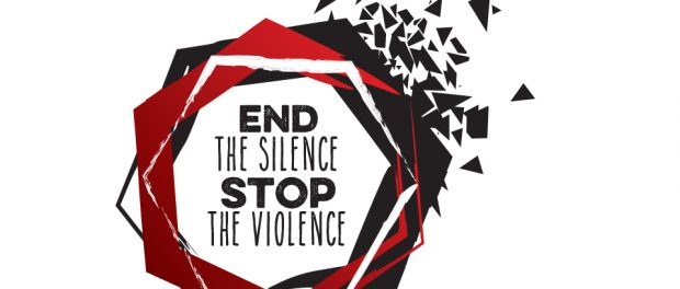 graphic: end the silence stop the violence