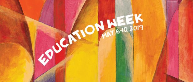 Detail of Education Week poster