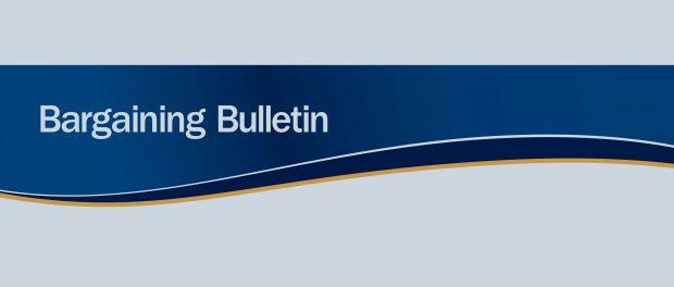 Banner: Bargaining Bulletin