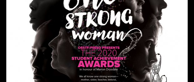 Image of the 2020 Student Achievement Awards poster