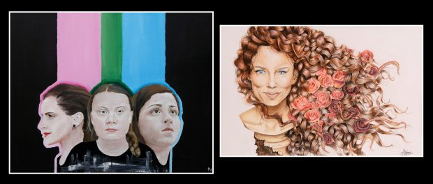 Images of the provincial artwork winners.